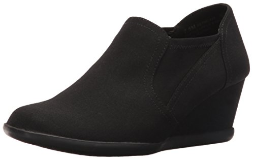 Aerosoles Women's Retro Fit Slip-on Loafer, Black Fabric, 9 M US by Aerosoles