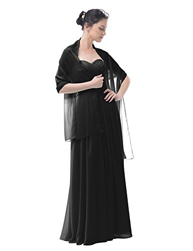 Buy black sheer bridesmaid dresses - 9