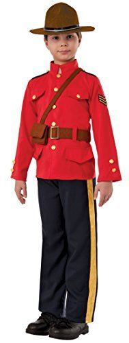 Mountie Child Costume