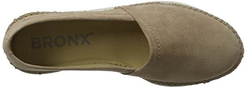 Bronx BX 1246 BstitchX Women's Loafers Brown (Taupe 12) 5pLOnaEP2W