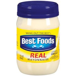 Best Foods, Real Mayonaise, 15oz Plastic Jar (Pack of 3) by Best Foods
