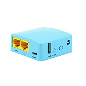 GL-MT300A, smart mini router, 128MB RAM, MicroSD card, 300Mbps WiFi, OpenWrt pre-installed, Repeater, Tethering, OpenVPN