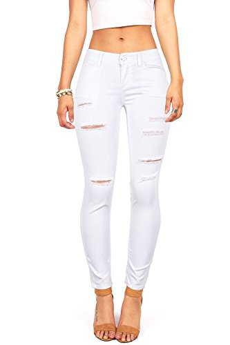 Wax Juniors Mid Rise Jegging Distressing product image