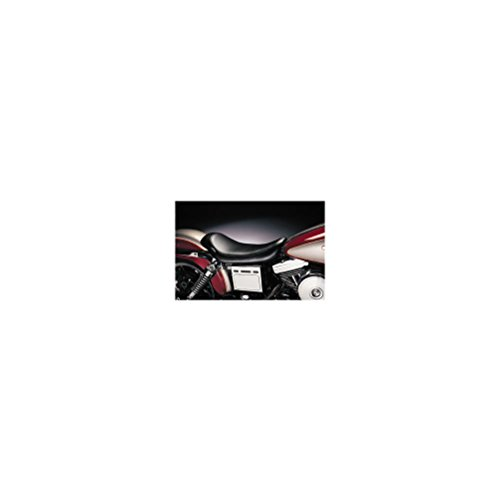 Le Pera Silhouette Solo Vinyl Seat for 1991-2010 Harley Davidson Touring Models - HD FLHR/I Road King 1994-1996 (Hd Touring Models)