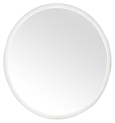 """Innoci-USA Apollo Oval LED Wall Mount Lighted Vanity Mirror Featuring IR Sensor and Energy Efficent LED Lights 22"""" x 26"""" - LED mirror 5 mm pvc film backed mirror Frosted pattern around all sides - bathroom-mirrors, bathroom-accessories, bathroom - 31DWOXHrHDL -"""
