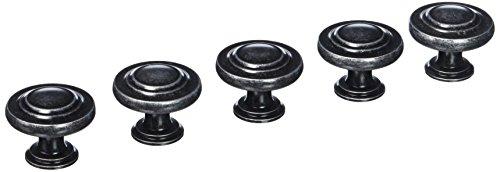 - Amerock BP1586-WID Inspirations Wrought Iron Dark 3-Ring Cabinet Knob - 1-3/8
