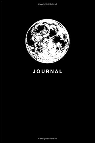 Journal: Minimalist Moon Dot Bullet Notebook/Journal Gift With Full