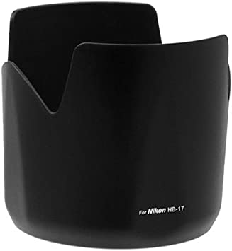 HB-7II Lens Hood,Portable Plastic Sun Shade,Professional Replacement Lens Hood Shade Accessory for Nikon AF 80-200mm f//2.8 D ED Lenses.