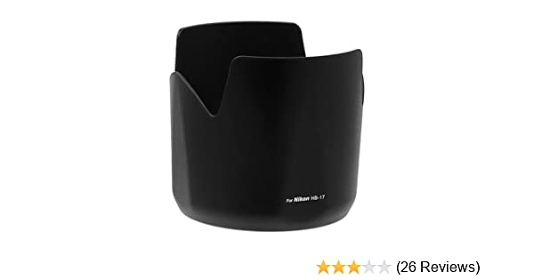 Serial No 200001-261492 Fotodiox Lens Hood Replacement for HB-17 Compatible with Nikon Nikkor AF-S 80-200mm f//2.8D IF-ED Lens
