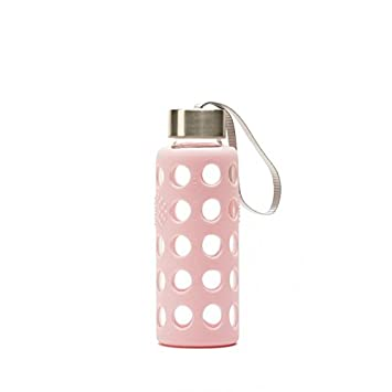 Irisana BBO Botella con Funda, Rosa, 300 ml: Amazon.es: Deportes y aire libre