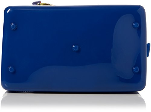 H T D Dolcezza Candy S 13x15x21 Cartables Satche B Pavone Blu x femme Cookie Furla Bleu cm RZawqa
