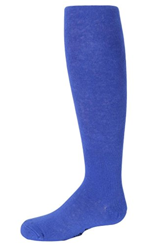 Violet Girls/ Childrens Warm Solid Cotton Tights classic blue 12 -