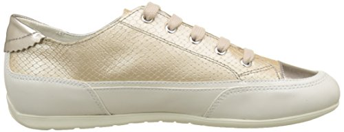 White New D Trainers Geox D Women's Off Skin Beige C8116 Moena Oxqxfzw6