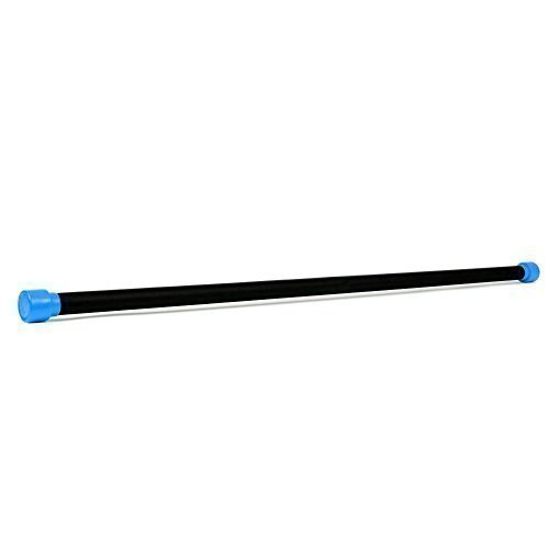 TNP Accessories 9KG Fitness Aerobic Weighted Body Bar Yoga Pilates Balance Exercise Gym