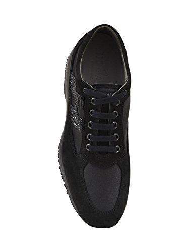 Hogan Sneakers Donna HXW00N2011FI7B999 Camoscio Nero