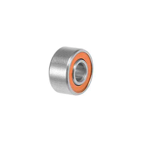 uxcell S693C-2OS Hybrid Ceramic Ball Bearing 3x8x4mm ABEC-7 Stainless Steel Bearings