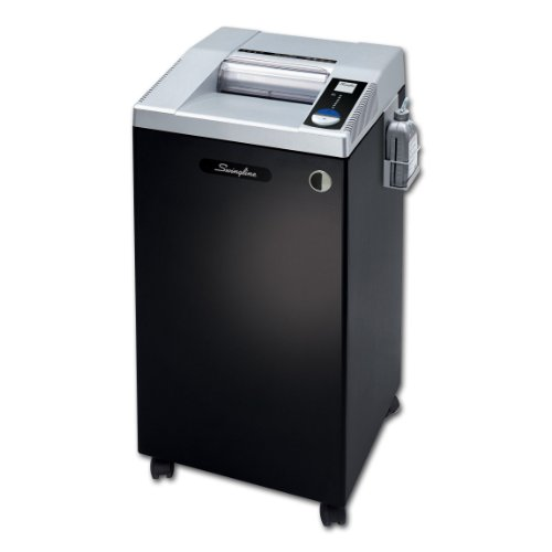 Swingline Paper Shredder, Commercial TAA Compliant, Jam Stop, 10 Sheet Capacity, High Security, 20+ Users, CHS10-30 (1753290)