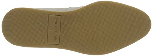 Marc O'Polo 70113843201110 Loafer, Mocasines para Mujer Mehrfarbig (stone/silver)