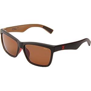 Zeal Optics Unisex Kennedy Black Coffee W/Copper Polarized Lens Sunglasses