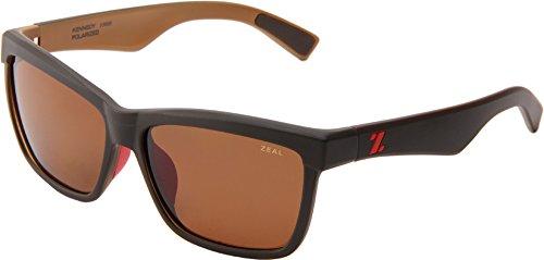 Zeal Optics Unisex Kennedy Black Coffee W/Copper Polarized Lens - Kennedy Optics