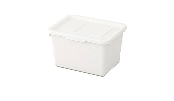IKEA Sockerbit Box With Lid White Size 7 ½x10 ¼x6