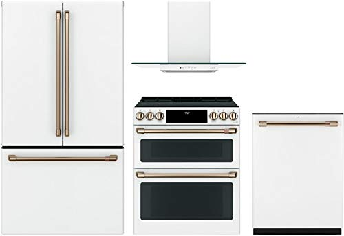 - GE Cafe 4 Piece Kitchen Package CWE23SP4MW2 36