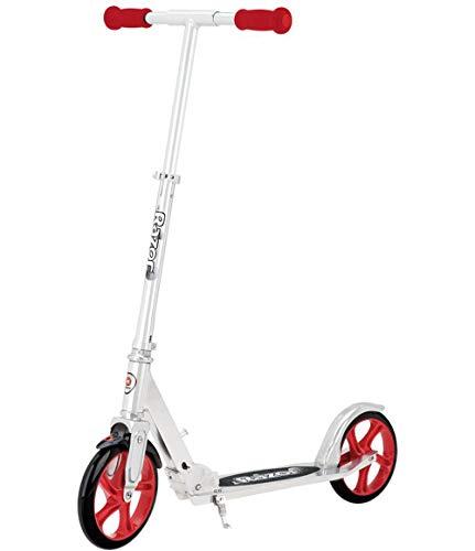 Razor A5 Lux Kick Scooter (Ffp), Red (Renewed)