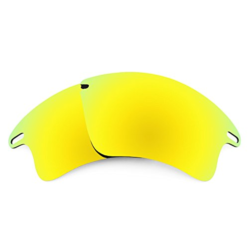 Revant Polarized Replacement Lenses for Oakley Fast Jacket XL Bolt Gold - Polarized Oakley Lenses Jacket Fast