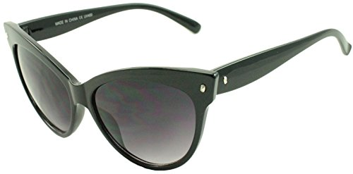 High Pointed Vintage Super Cateye Inspired Sunglasses Girly MOD Vault Classic100% UV400 Glasses - Glasses Girly