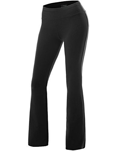 NINEXIS Women's High Waist Bootcut Running Yoga Pants