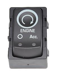 ACDelco D1436G GM Original Equipment Ebony Ignition Start/Stop Switch