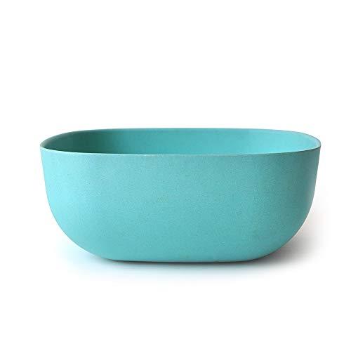 (EKOBO Biobu 170 oz Gusto Salad Bowl, Large, Lagoon)