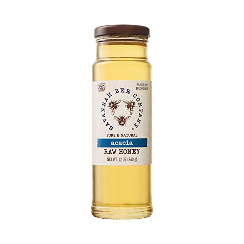 Acacia Honey by Savannah Bee Company - 12 Ounce Tower Jar