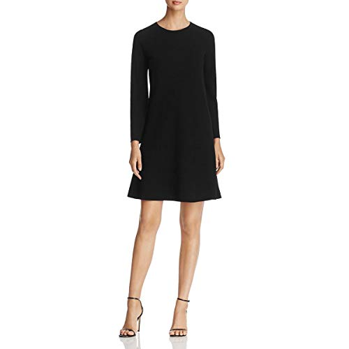 Lafayette 148 New York Womens Kalitta Flare Sleeves Wear to Work Dress Black S from Lafayette 148