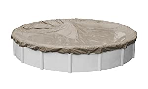 6. Pool-Mate 5715-4 Sandstone Winter Cover for 15-Foot Round Above-Ground Swimming Pools