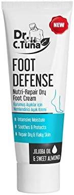 Farmasi Dr. C. Tuna Foot Defense Nutri-Repair Dry Foot Cream, 100 ml./3.38 fl.oz.