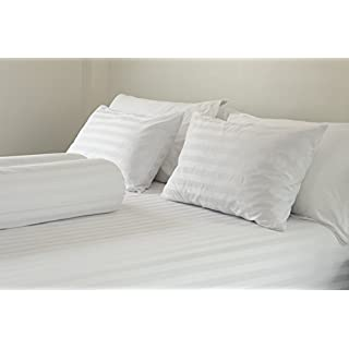 East Coast Bedding 2 Pack Luxury Goose Feather & Down Filled Pillows for Sleeping – Real Geese Feather Bed Pillow Set w/Cotton Shell (Standard Size)