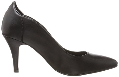 Klassik 10 Escarpins Noir Bout Femme Black Bianco Pump Fermé gPBww