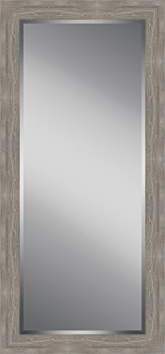 Watermark Collection Distressed, Rustic Wooden Framed Floor Leaner Mirror, Large by Watermark Collection