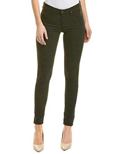 AG Adriano Goldschmied Women's The Legging Super Skinny Stretch Corduroy, Climbing Ivy, 30 ()