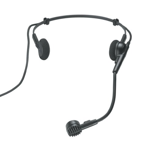 Aerobic Headset Microphone (Audio-Technica PRO 8HEcW Hypercardioid Dynamic Headworn Microphone)