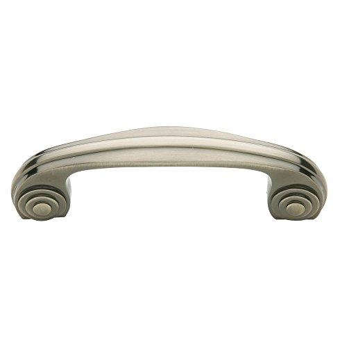 Baldwin 4436151 Decorative Cabinet Pull, Antique Nickel -