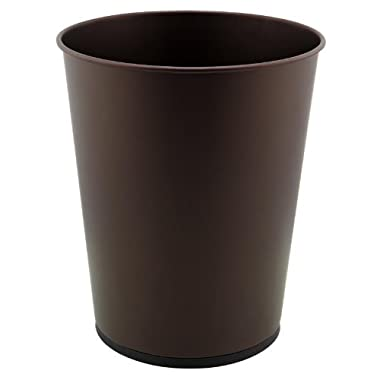 Bliss Waste Cans/Dustbin - Trashcan for Kitchen,Bathrooms,Office,Dorms - Rust Color - 5L Capacity - 8.07  Rd x 11