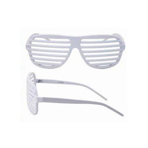Sunglasses Shutter Stronger Shades Glasses Retro White Club