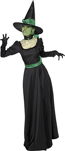 Costume Witch Girls Uk (Smiffys Women's Witch Costume)