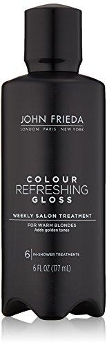 John Frieda Colour Refreshing Gloss, Warm Blonde, 6 Ounce