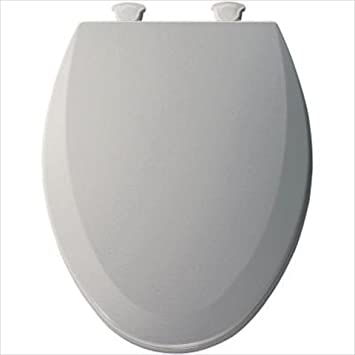Bemis 1500EC062 Molded Wood Elongated Toilet Seat With Easy Clean and  Change Hinge Ice Grey. Bemis 1500EC062 Molded Wood Elongated Toilet Seat With Easy Clean