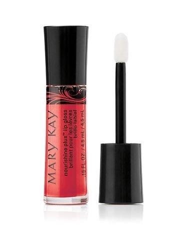 Mary Kay NouriShine Plus Lip Gloss Rock 'n Red