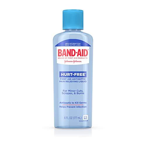 (Johnson & Johnson Band-Aid Hurt Free Antiseptic W)