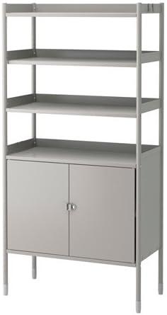 IKEA Hindo 490.484.54 - Estantería con armario para interior ...